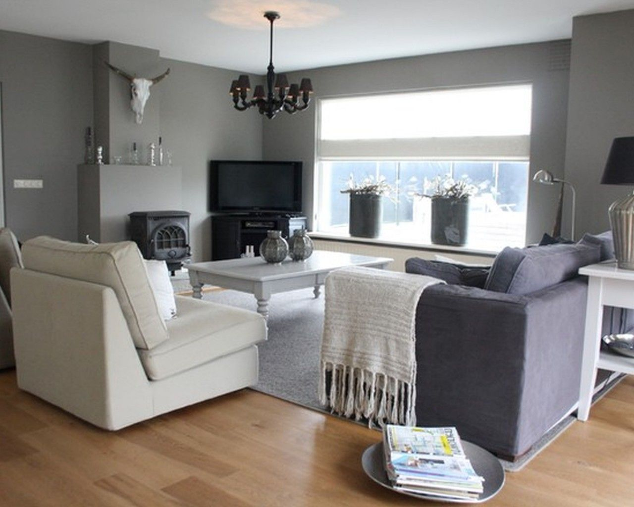 Agreeable Gray Living Room Complexion Entrancing Pictures
