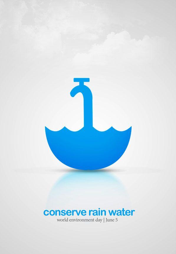 Environmental logo conserve rain water sustainable community environmental logo conserve rain water altavistaventures Images