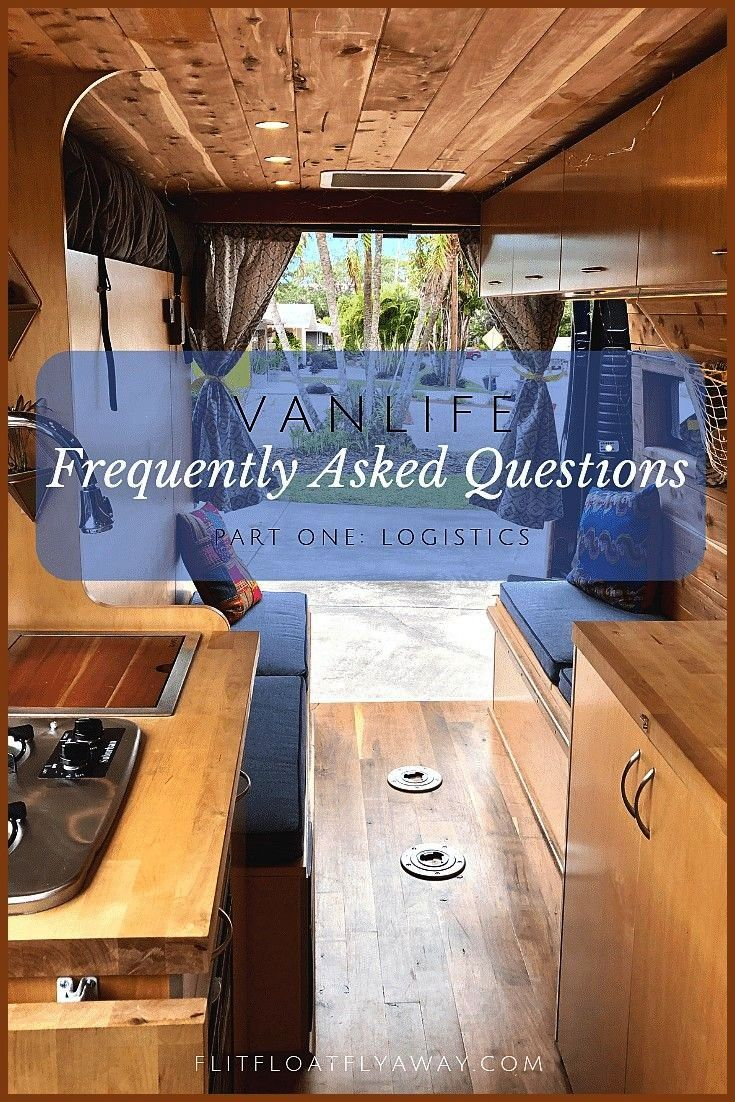Asked Questions Flit Float Fly Away Answers for all your most...,  Vanlife Frequently Asked Questio