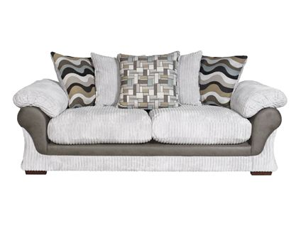 Lullabye 3 seater pillow back sofabed   Living room Furniture   Harveys. Lullabye 3 seater pillow back sofabed   Living room Furniture