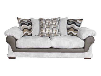 Lullabye 3 Seater Pillow Back Sofabed | Living Room Furniture | Harveys