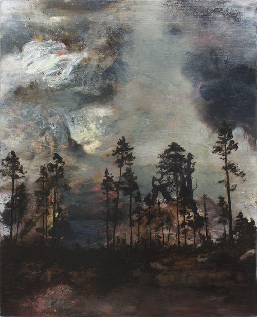 blastedheath:  Martin Ålund (Swedish, b. 1967), Chemistry 1: 9, 2013. Oil on canvas, 80 x 100cm.