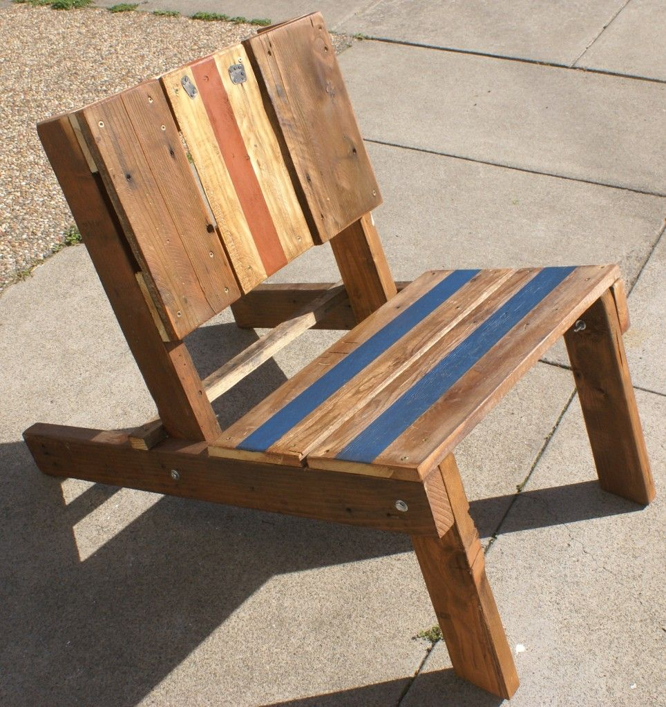 Easy wooden chair designs - Outdoor Projects