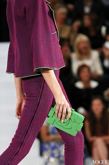 Tata Jazz Blog: Bags from Paris fashion week S\S 2013