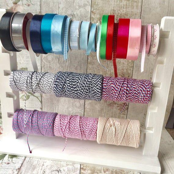 Ribbon Holder Ribbon Organiser Ribbon Storage Rack Ribbon