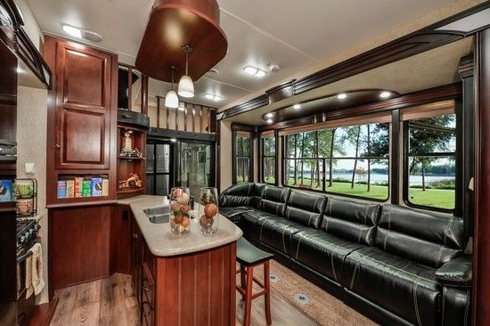 Evergreen Element 36 Ft Travel Trailer Luxury Interior Google