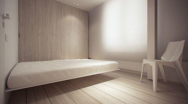 Stark Sharp Minimalistic Interiors By Oporski Architektura Minimalist Furniture Design Bedroom Furniture Design Minimalist Living Room Apartment