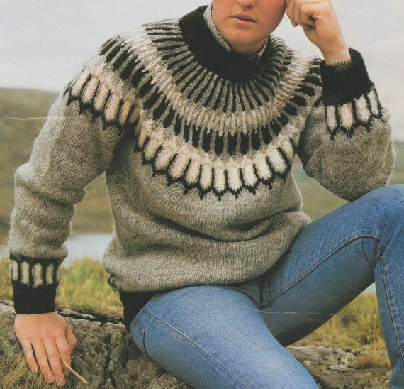 Instant Download PDF Vintage Chart Knitting Pattern to make Ladies ...