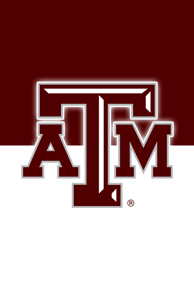 Get A Set Of 12 Officially Ncaa Licensed Texas A M Aggies Iphone Wallpapers Sized Precisely For Any Model Of Iph Texas A M Logo Iphone Wallpaper Size Texas A M