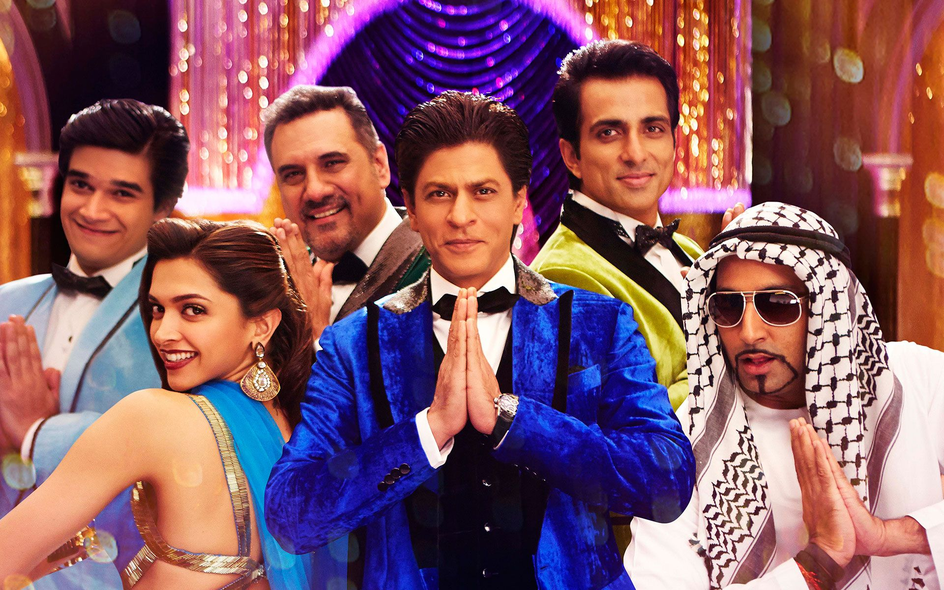 King Khan Kino Happy New Year Happy new year film