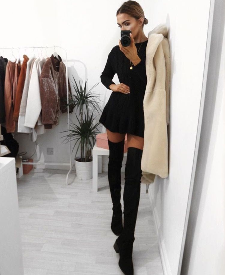 28+ Over the knee boots outfit ideas ideas in 2021
