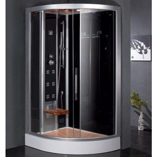 Ariel Bath Platinum 47 7 X 35 4 X 89 Pivot Door Steam Shower