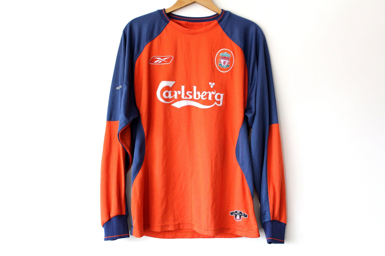 Vintage Reebok Liverpool Shirt Made In Great Britain Orange Etsy Soccer Shirts Vintage Reebok Football Shirts [ 2000 x 3000 Pixel ]