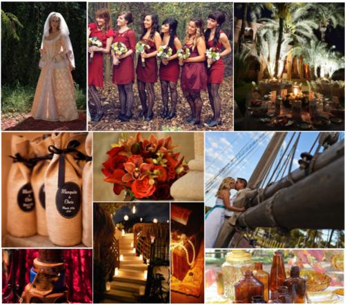 Pirates of the Caribbean Inspired Disney Wedding | Disney Weddings ...