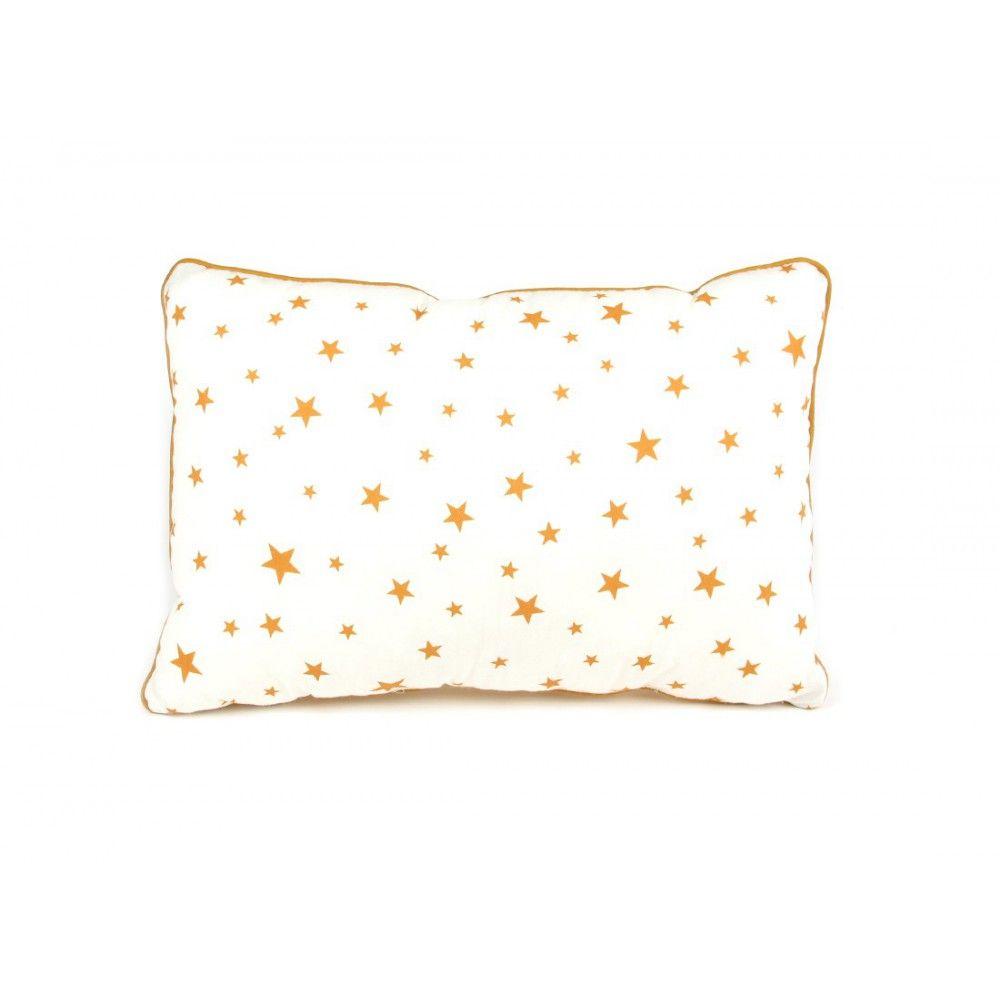 Nobodinoz Coussin en coton garni rectangle étoilé-product