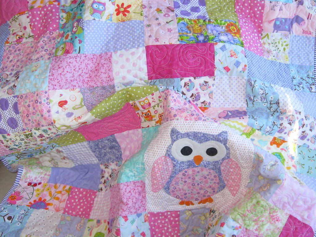 how quilts quiltytherapy multiple once scrappy on at work finished quilt girls to