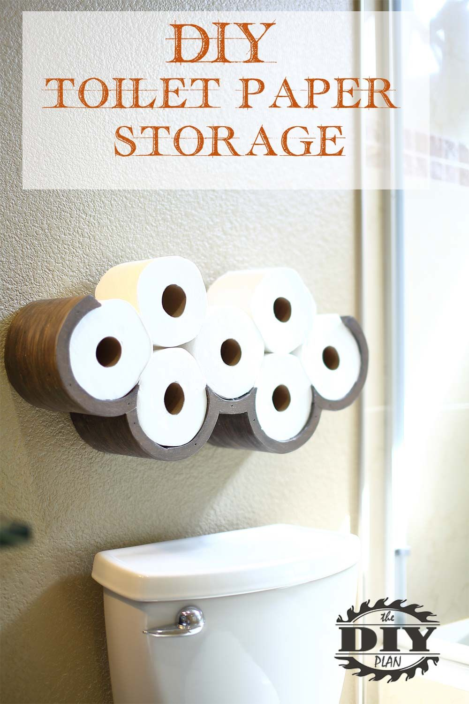 Awesome Diy Cloud Toilet Paper Storage Toilet Paper Storage