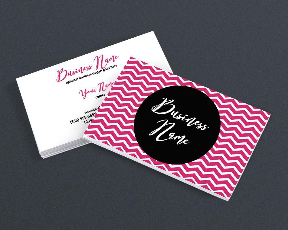 Bold Business Card Design - Modern Business Card Design - 2 Sided ...