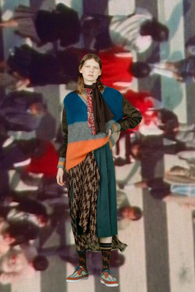 Kolor  #VogueRussia #menswear #fallwinter2020 #Kolor #VogueCollections