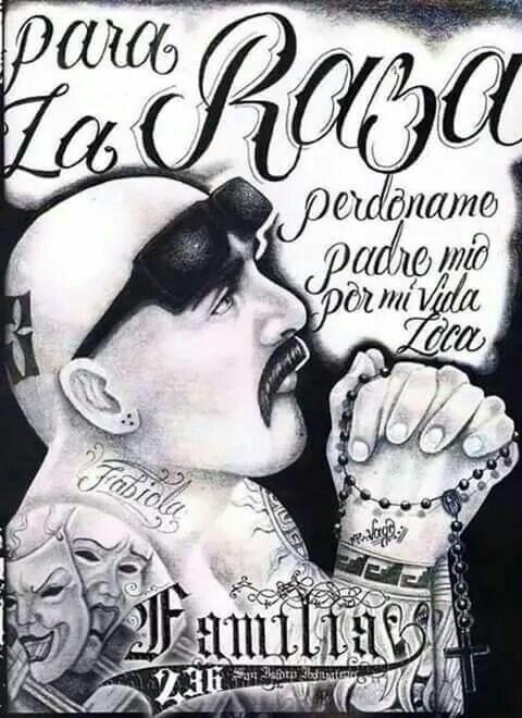 Mi Vida Loca Homies Arte Chicano Arte Mexicano Y Chicano