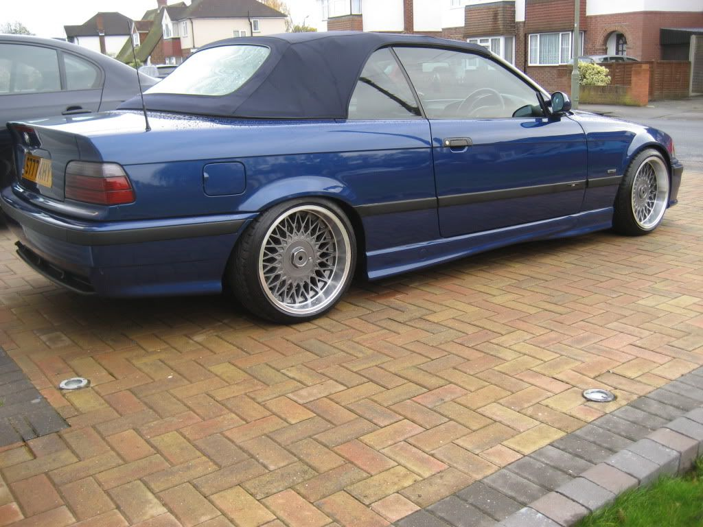 blue bmw e36 cabrio on cult classic borbet b wheels bmw e36 culture album pinterest bmw. Black Bedroom Furniture Sets. Home Design Ideas