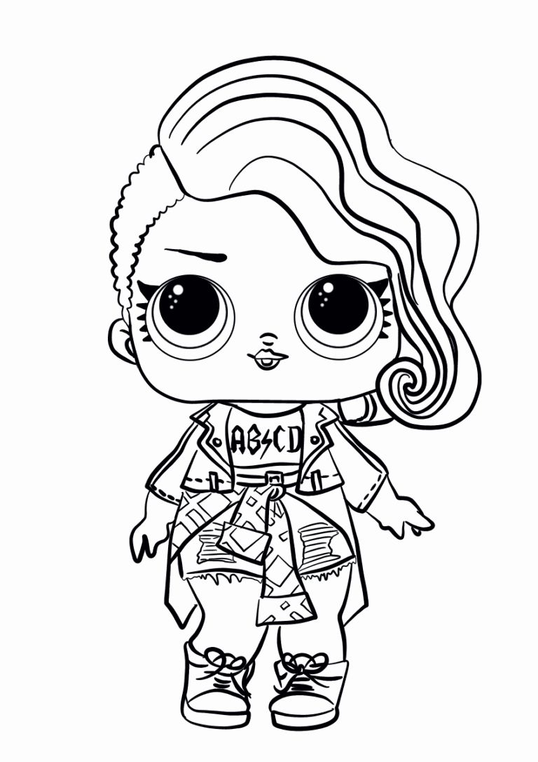 Coloring Pages Lol Dolls Best Of Lol Surprise Doll Coloring Pages Rocker Unicorn Coloring Pages Cute Coloring Pages Free Printable Coloring Pages