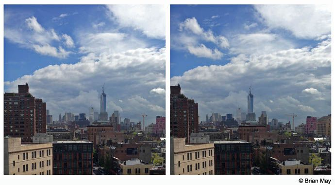 Freedom Tower from Soho House (cross view)