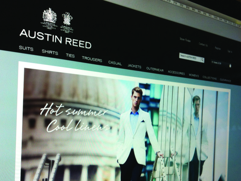 Austin Reed Header New Site Updates Austin Reed News Sites Header