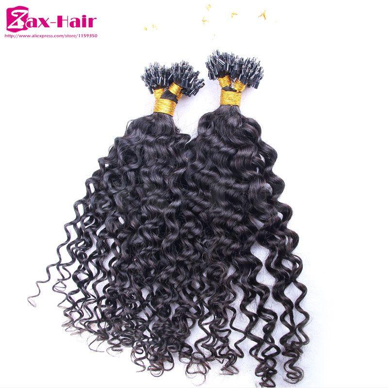 Micro Loop Hair Extensions 100g Curly Micro Loop Ring Hair