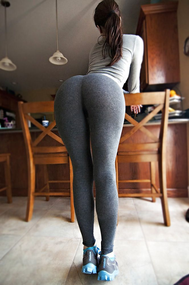 Hot ass in yoga pants commit
