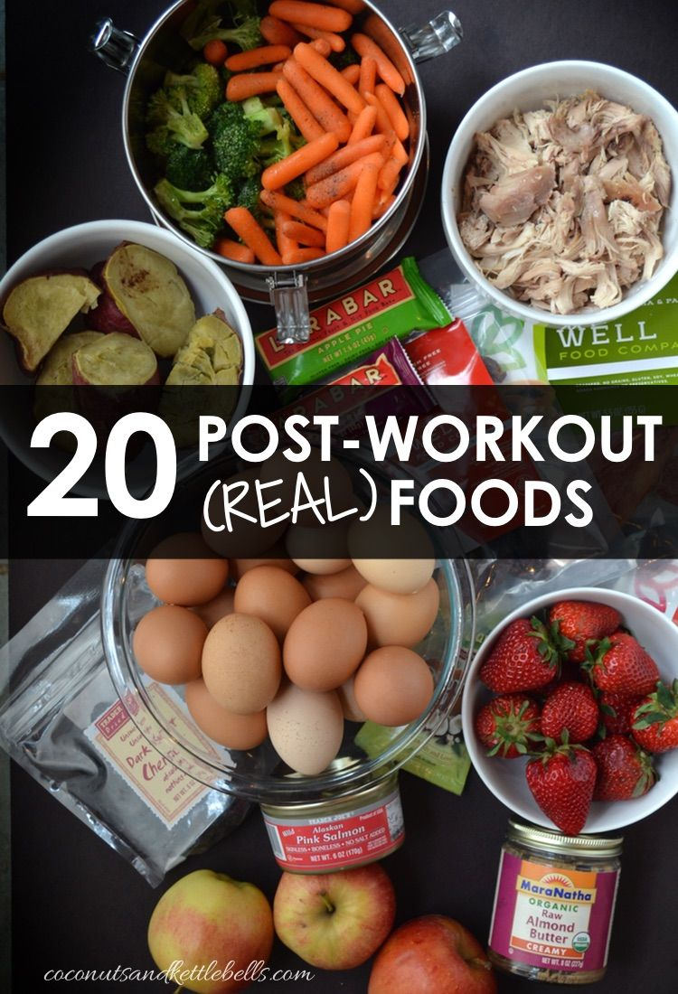 20 Best Foods to Eat Post-Workout