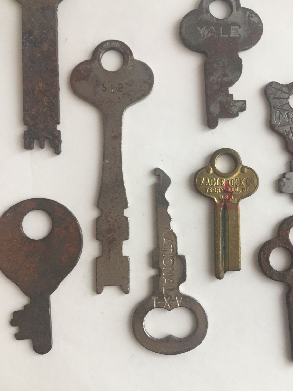 Antique Keys Vintage Key