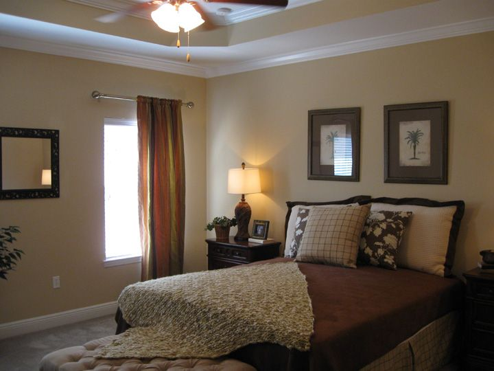 This Glenhurst floor plan master bedroom looks great on the coast!  http://www.panhandle360.com/tour/72-542