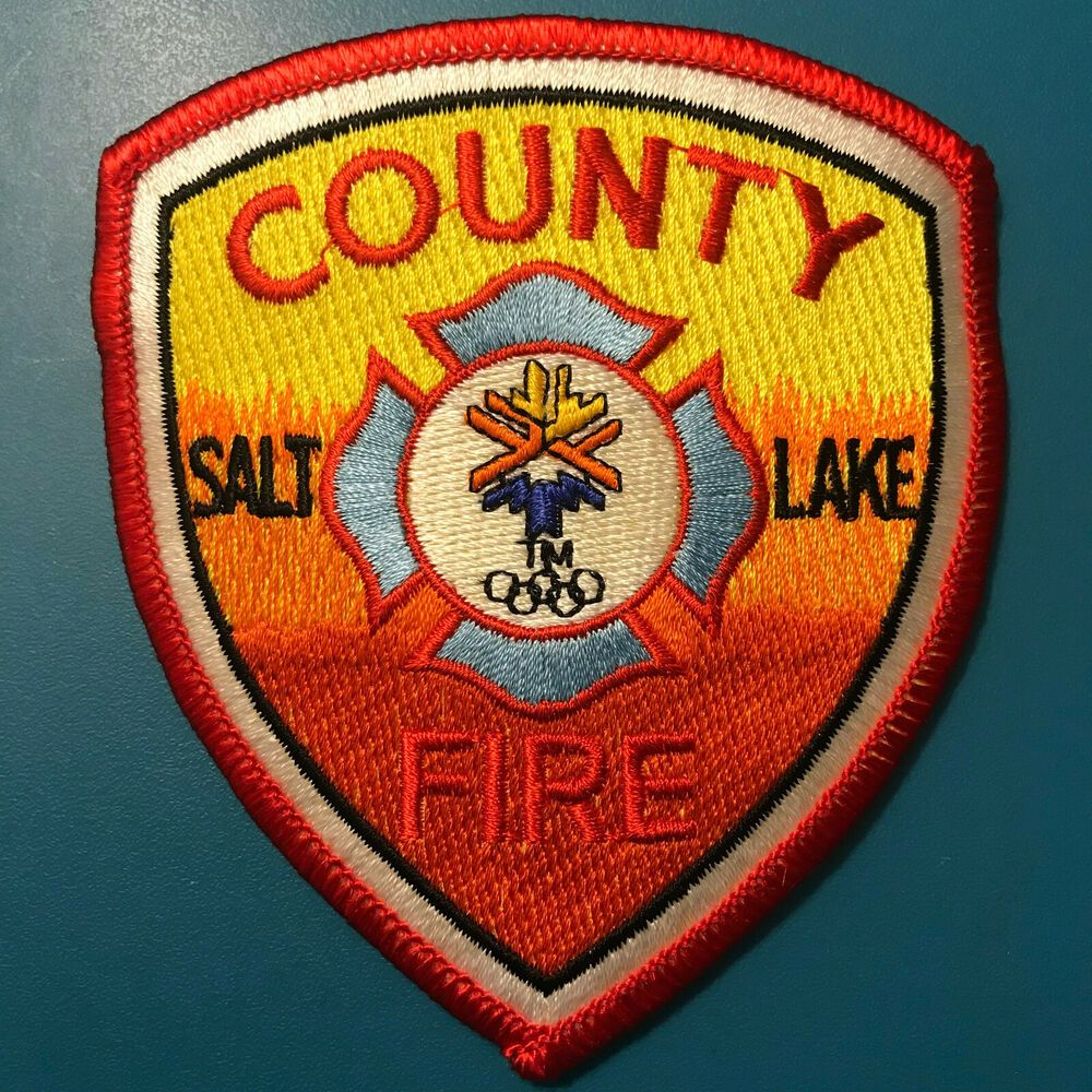 Salt Lake County Fire Rescue Utah UT Salt Lake Winter