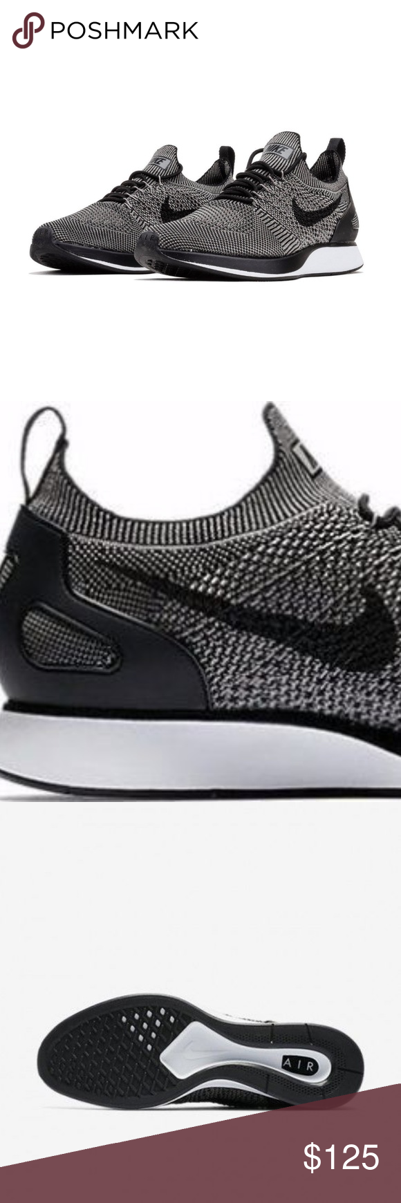 info for ea257 0b810 Nike Air Zoom Mariah Flyknit Racer Black Grey Nike Air Zoom Mariah Flyknit  Racer Black Grey