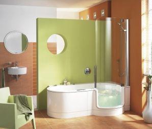 Der Twinline Whirpool Von Artweger Ist Dusche, Badewanne Und Whirlpool In  Einem