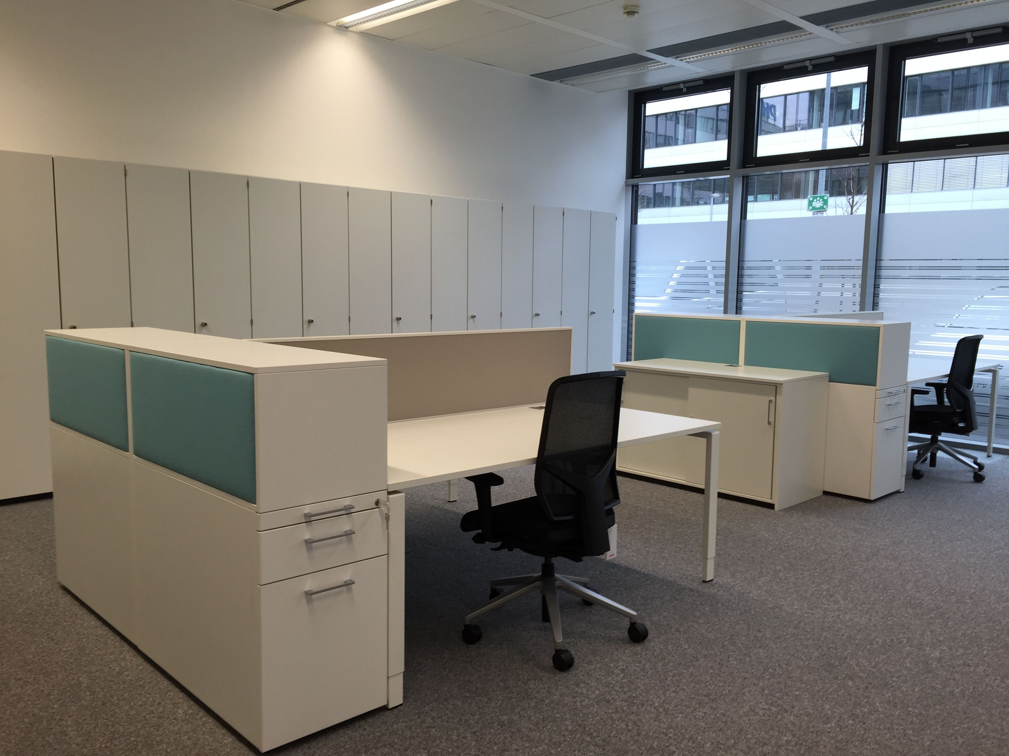 Hochcontainer mit Akustikelement by kühnle\'waiko #office #furniture ...