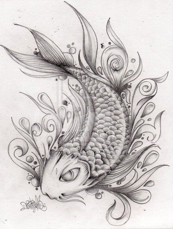 Pisces Fish Tattoo Google Search Tats Pinterest Koi Fish