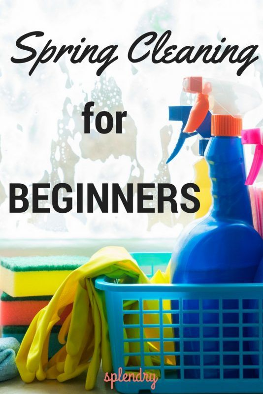 A few spring cleaning tips for beginners (those of us not naturally neat-freaks)!