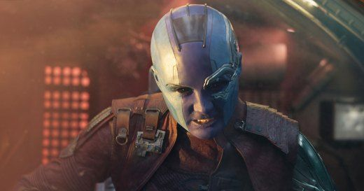 Guardians Of The Galaxy Vol 2 Kritik Mit Karen Gillan Als Nebula Guardianes De La Galaxia Gamora Nebulosa