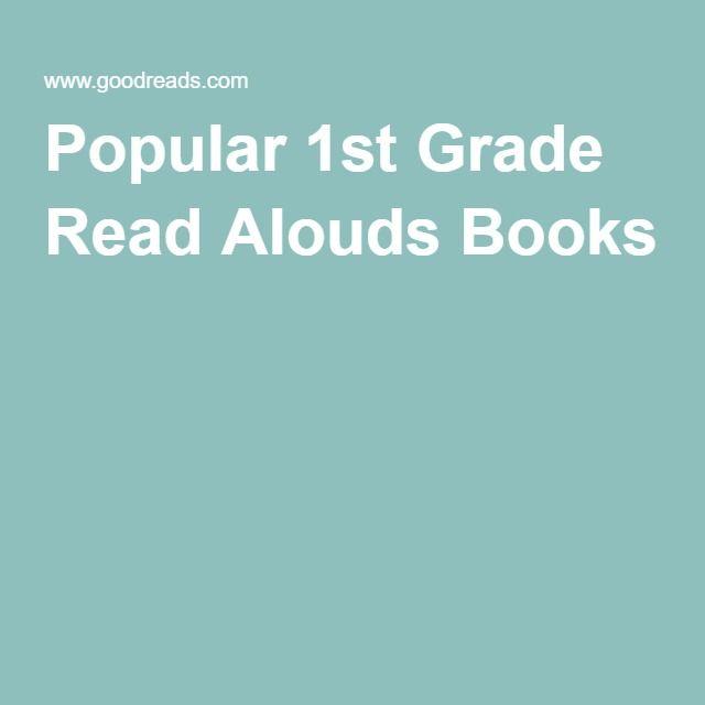 Popular 1st Grade Read Alouds Books