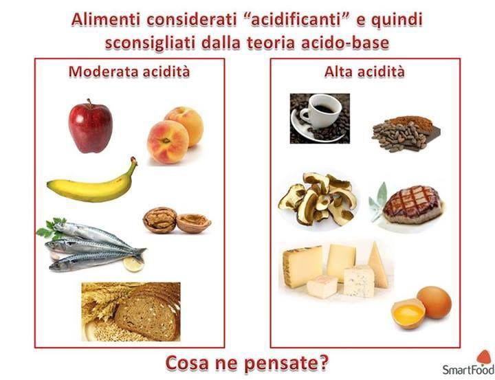 #Alimenti acidi - #salute #benessere #alimentazione