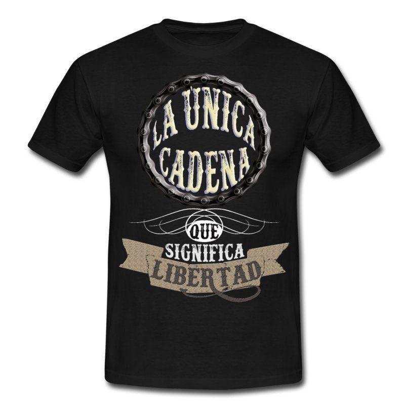 Libertad motera-Camiseta hombre - Camiseta hombre  befbb31fde605