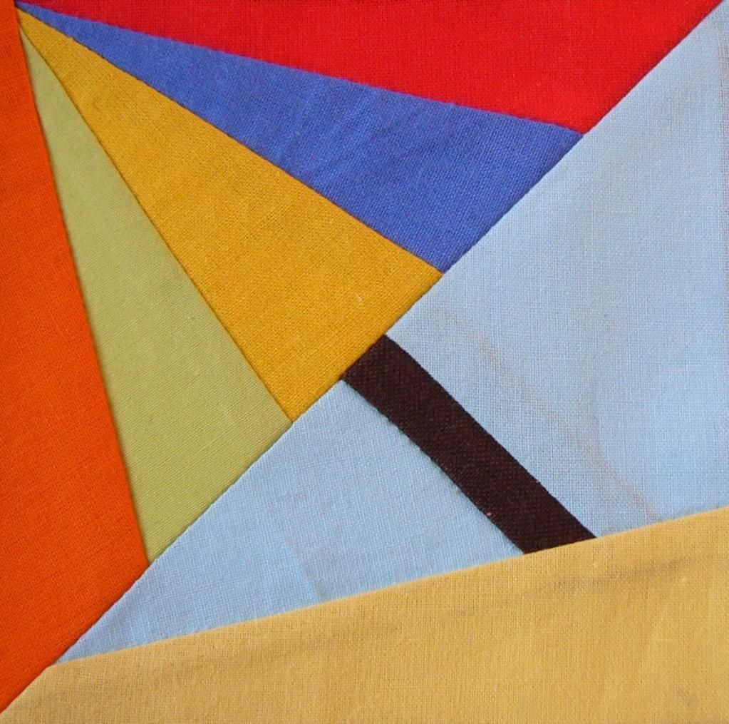 Umbrella paper piecing quilt block | Maritim, Sammlung und Applikationen