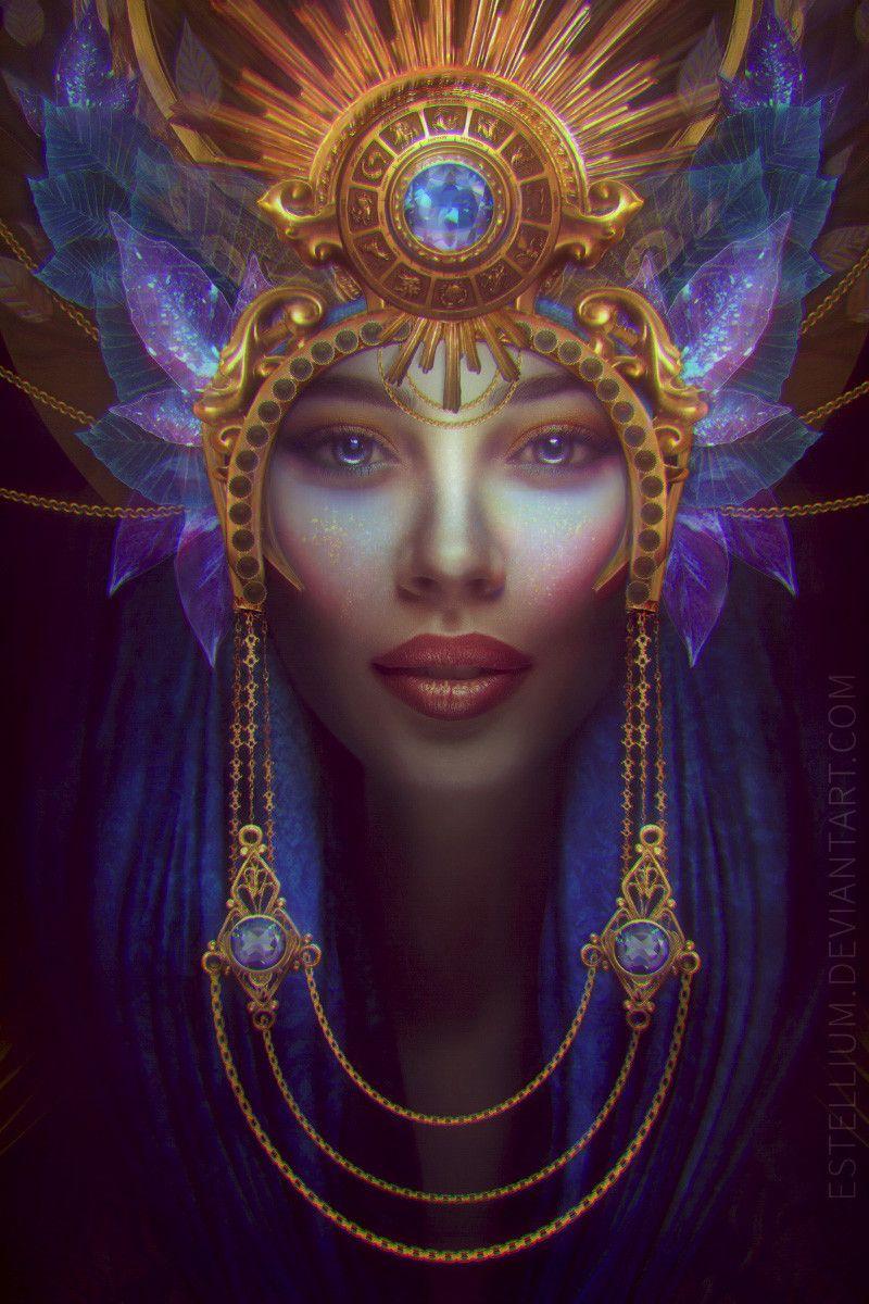 ArtStation The Queen, Olga Buračevska in 2020 Magic