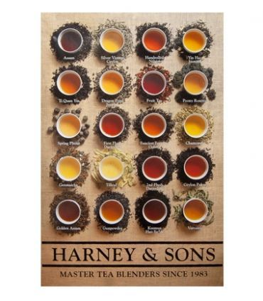 Harney & Sons Brewed Tea Poster -