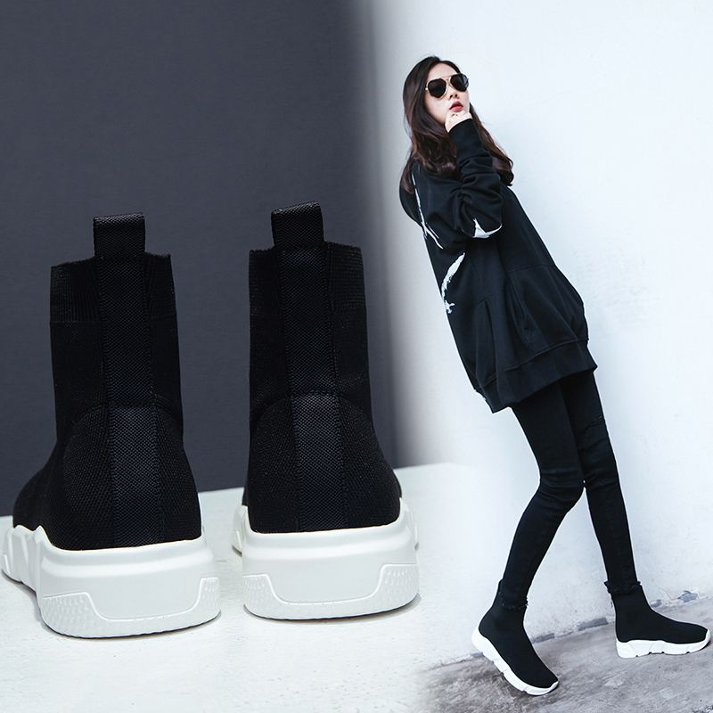 Stylish With Sock Sneakers