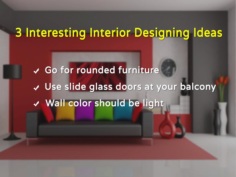 3 Interesting Interior Designing Ideas of 2016 #3DInteriorRendering