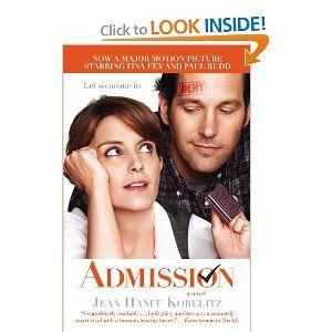 Admission, good read!