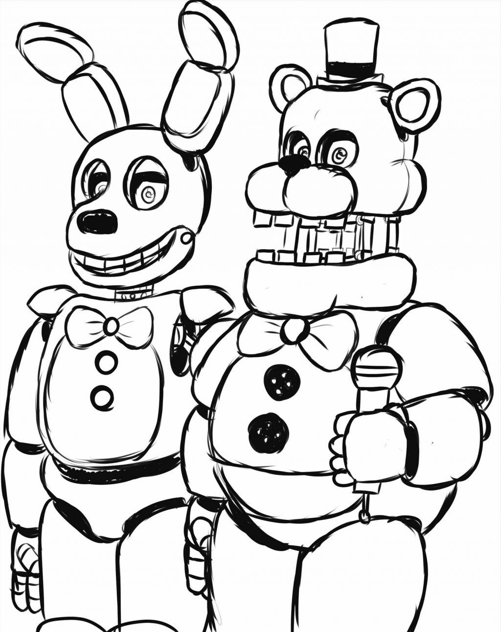 Spring Trap Coloring Page In 2020 Minion Coloring Pages Coloring Pages Fnaf Coloring Pages
